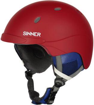 Sinner Titan skihelm Rood