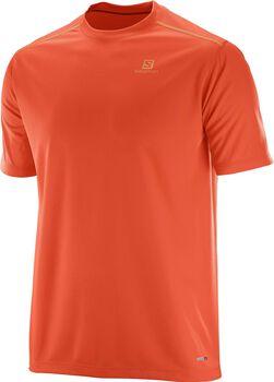 Salomon Stroll Logo shirt Heren Oranje