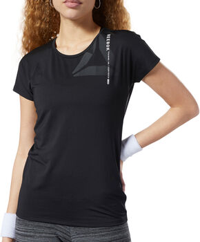 Reebok ACTIVCHILL Graphic T-shirt Dames Zwart