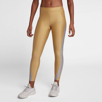Nike Power Speed tight Dames Geel
