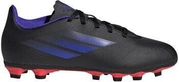adidas X Speedflow.4 Flexible Ground kids voetbalschoenen Zwart