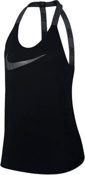 Nike Breathe top Dames Zwart