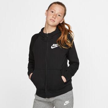 Nike Sportswear Full Zip kids jack Zwart