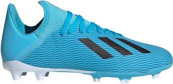 adidas X 19.3 FG jr voetbalschoenen Blauw