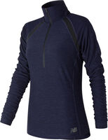 New Balance Anticipate Half Zip shirt Dames Blauw
