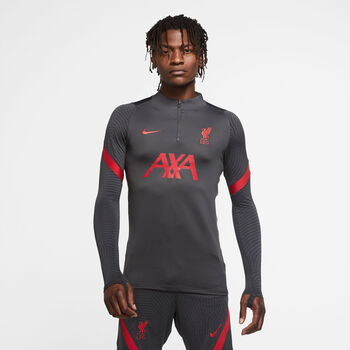 Nike Liverpool FC Strike Drill top Heren Zwart