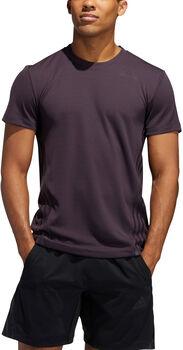 adidas AEROREADY 3-Stripes shirt Heren Paars