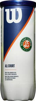 Wilson Roland Garros All Court 3-tin tennisballen Geel