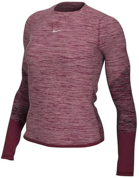 Nike Runway top Dames Rood