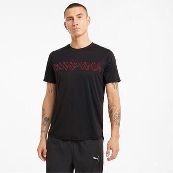 Puma Run Logo shirt Heren Zwart