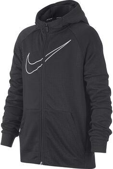 Nike Dry jr hoodie Jongens Zwart