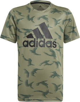 adidas Designed To Move Camouflage T-shirt Groen