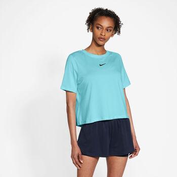 Nike Court Advantage shirt Dames Blauw
