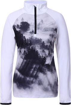 Icepeak Nora 1/2 Zip sweater Dames Wit