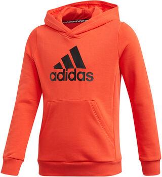 adidas Must Haves Badge of Sport Fleece kids sweater Zwart