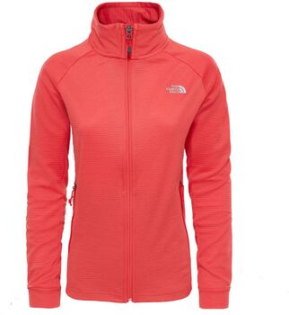 The North Face Extent fleece Dames Rood