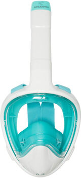 Atlantis 3.0 white/turquoise s/m snorkelmasker Wit