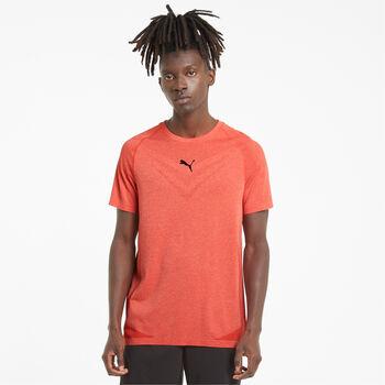 Puma Train Tech Evoknit t-shirt Heren Rood