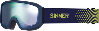 Sinner Duck Mountain skibril Blauw