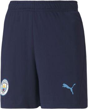 Puma Manchester City FB trainingsshort Jongens Blauw