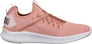 Puma Ignite Flash evoKNIT Satin fitnessschoenen Dames Oranje