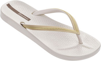 Ipanema Anatomic Metallic slippers Dames Ecru