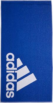 adidas L handdoek Blauw