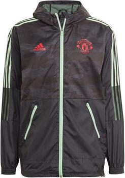 adidas Manchester United Windjack Heren Zwart