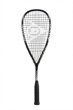Dunlop Blackstorm Titanium squashracket Heren Wit