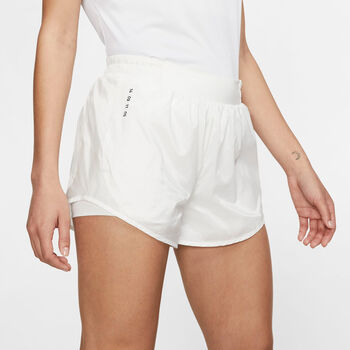 Nike Tempo short Dames Wit