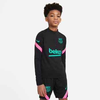 Nike FC Barcelona Strike kids top 20/21 Jongens Zwart