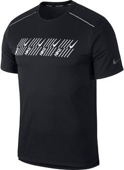 Nike Miler Tech Capsule shirt Heren Zwart