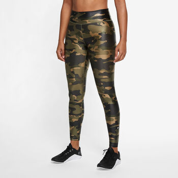 Nike Dri-FIT One legging Groen