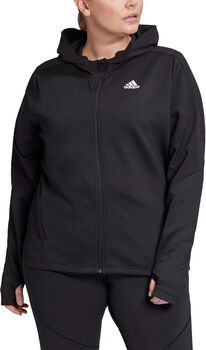 adidas AEROREADY Knit jack (Grote Maat) Dames Zwart