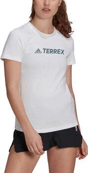 adidas Terrex Classic Logo T-shirt Dames Wit