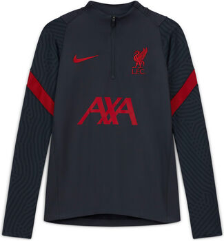 Nike Liverpool FC Strike Drill kids top Jongens Zwart