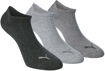 Puma Invisible 3-pack sokken Zwart