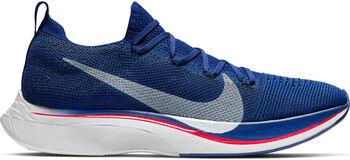 Nike Vaporfly 4% Flyknit hardloopschoenen Blauw