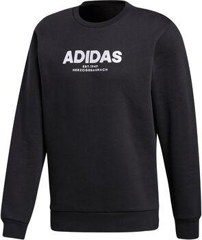 ADIDAS Essential Allcap Crew sweater Heren Zwart