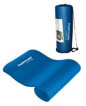 tunturi fitnessmat nbr, blue Blauw