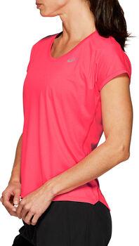 Asics Capsleeve shirt Dames Roze