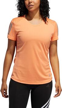 adidas Own The Run shirt Dames Oranje