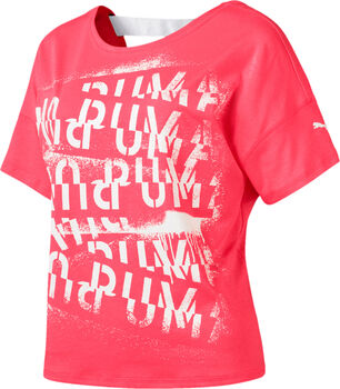 Puma HIT Feel It shirt Dames Roze