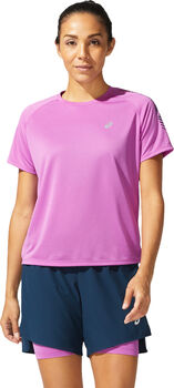 ASICS Icon SS shirt Dames Paars