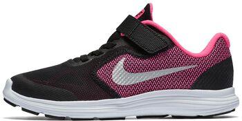 Nike Revolution 3 jr hardloopschoenen Zwart