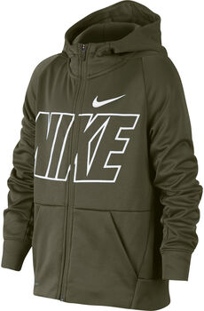 Nike Therma hoodie Groen