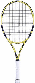 Babolat Pure Aero 26 kids tennisracket Geel