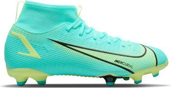 Nike Superfly 8 Academy FG/MG kids voetbalschoenen Blauw