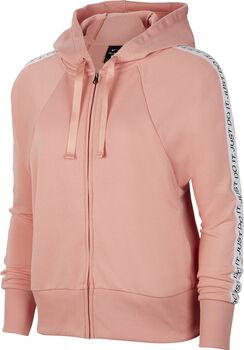 Nike Dri-FIT Fleece hoodie Dames Rood