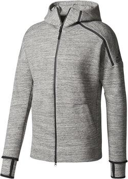 Adidas Z.N.E. Storm Heathered hoodie Heren Grijs